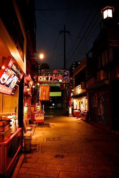 長崎新地中華街 通り