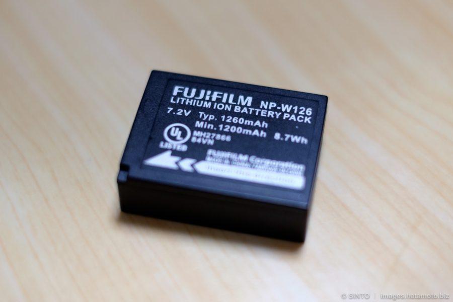 富士フイルム純正バッテリー NP-W126