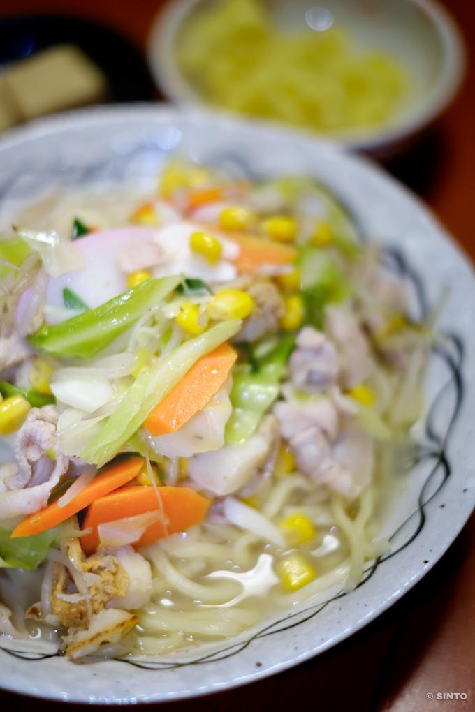 長崎ちゃんぽん第2弾、今回は生太麺で。