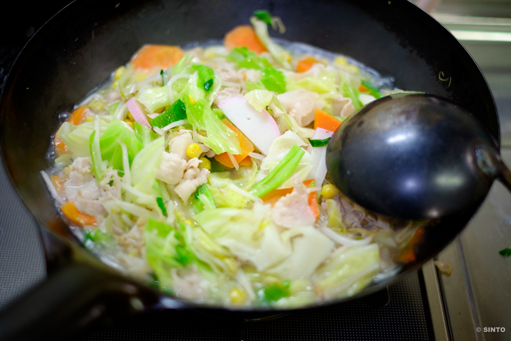 野菜たっぷり!ちゃんぽん。