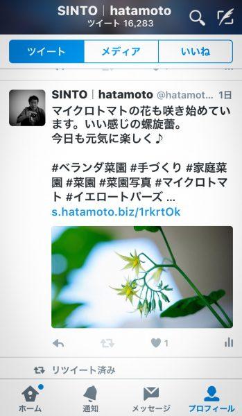 InstagramからTwitterに画像付きで同時投稿