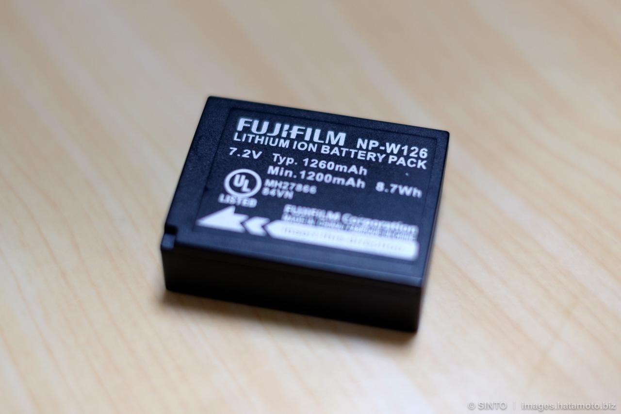 FUJIFILM 純正充電池2