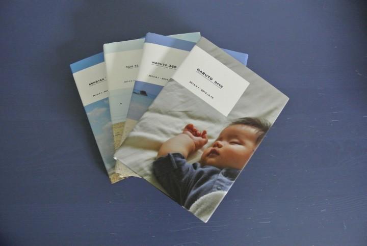 子どもの成長記録を本にするアプリ