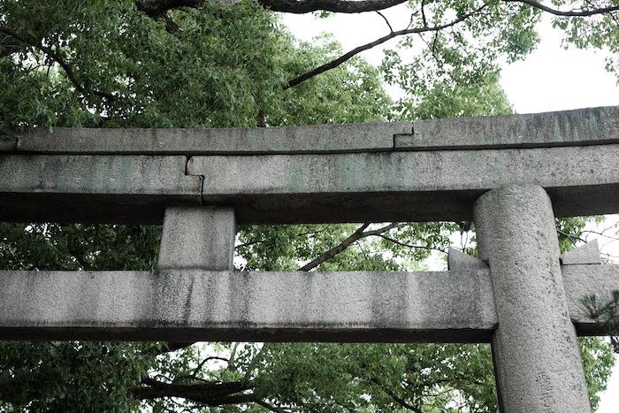 藤森神社の鳥居