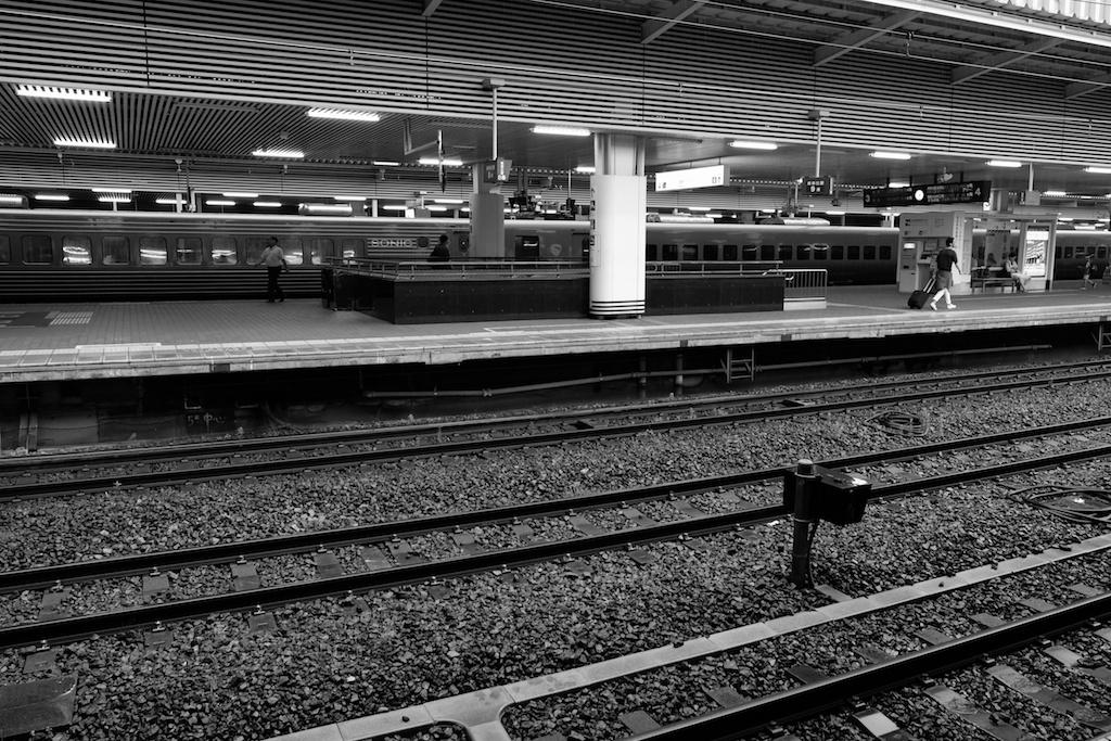 JR博多駅に着いた