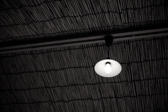 茶店の電灯|北野天満宮
