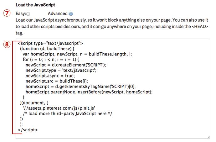 Load the JavaScript
