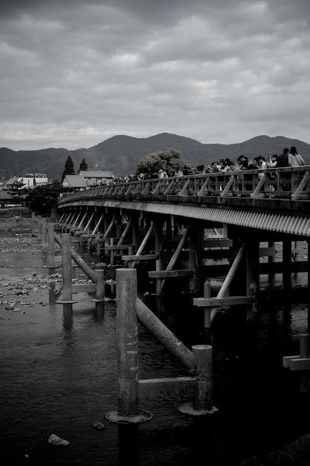 京都嵐山 渡月橋(法輪寺橋)