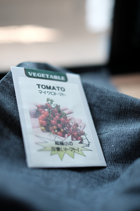 マイクロトマトの種、パッケージ