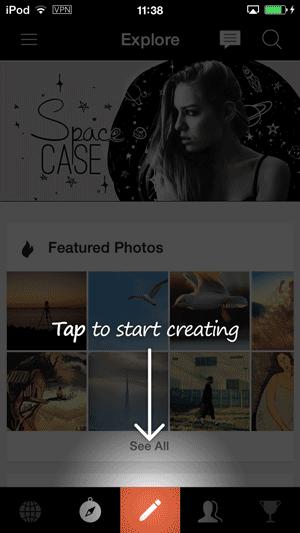 PicsArt-起動
